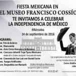 Festeja la fiesta mexicana en el Museo Francisco Cossío, SLP., México