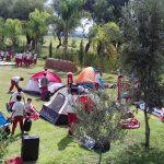 Instituto del Real, de campamento en Rancho Vacacional la Borrega
