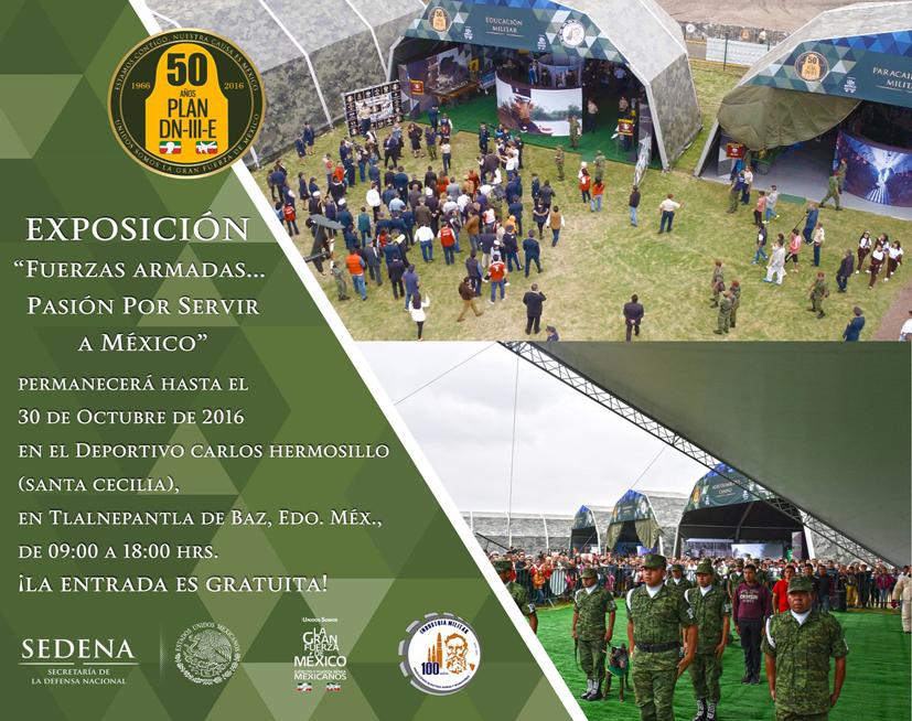 Fuerzas Armadas México, Exposición PLAN DN III