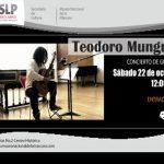 Teodoro Munguía: Concierto de guitarra en Museo Nacional de la Máscara SLP