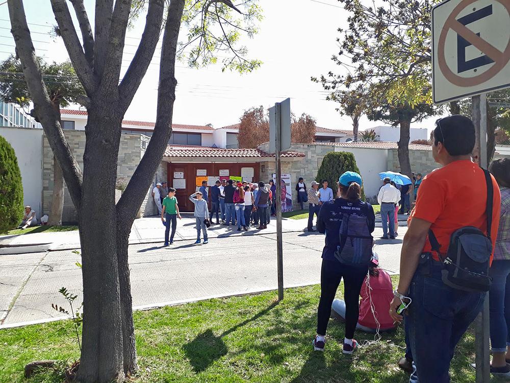 Marcha de ciudadanos contra la Inseguridad en SLP