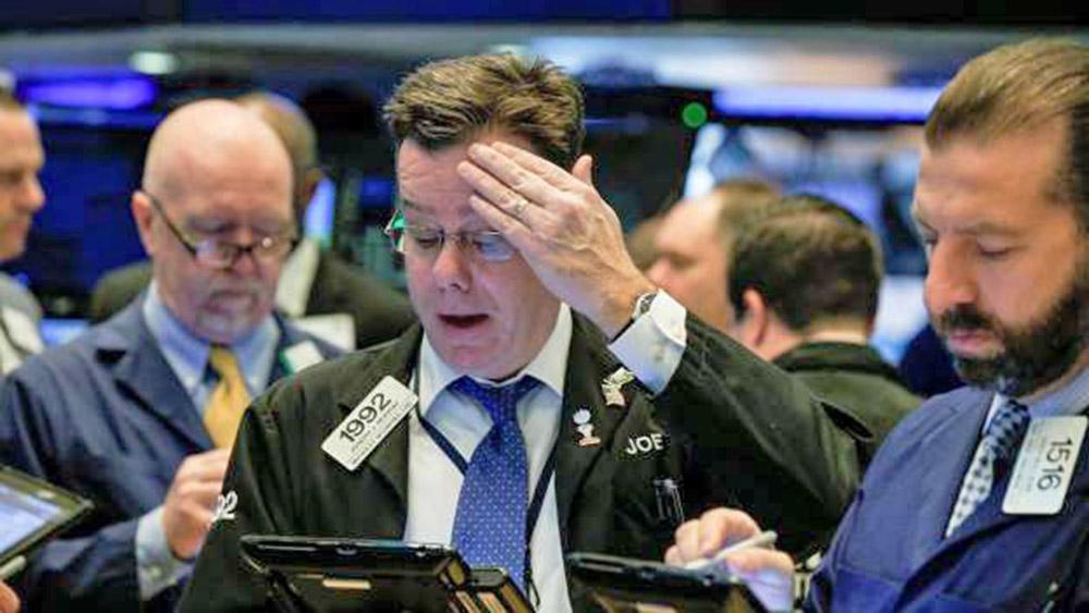 El Dow Jones cae bruscamente