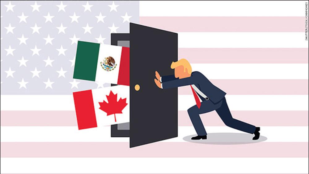 Ante la cerrazón al TLC. México debe avisparse