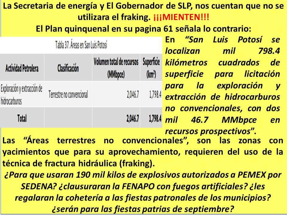 Gobierno y fracking
