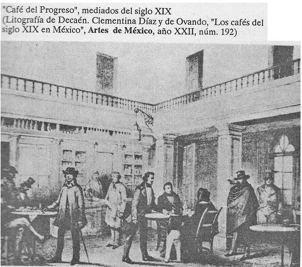 Los primeros cafés famosos en México
