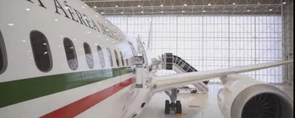 El avión de «Peña» se define en una sola palabra: «Ostentación»