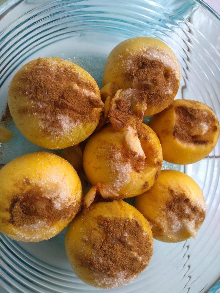 Prepara deliciosas manzanas campesinas